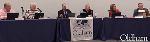 Oldham County Board of Education December 2020 Meeting
