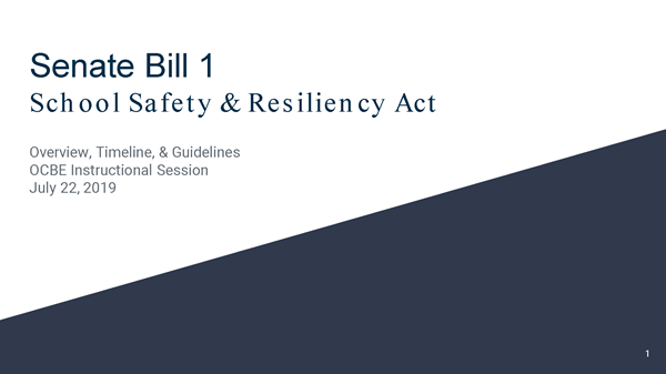 Senate Bill 1