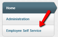 Munis Menu - Employee Self Service Link