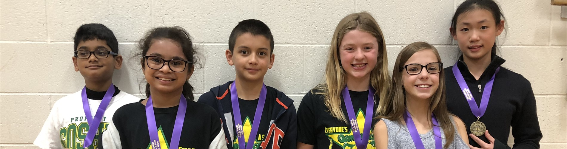5th grade district battle of the books team