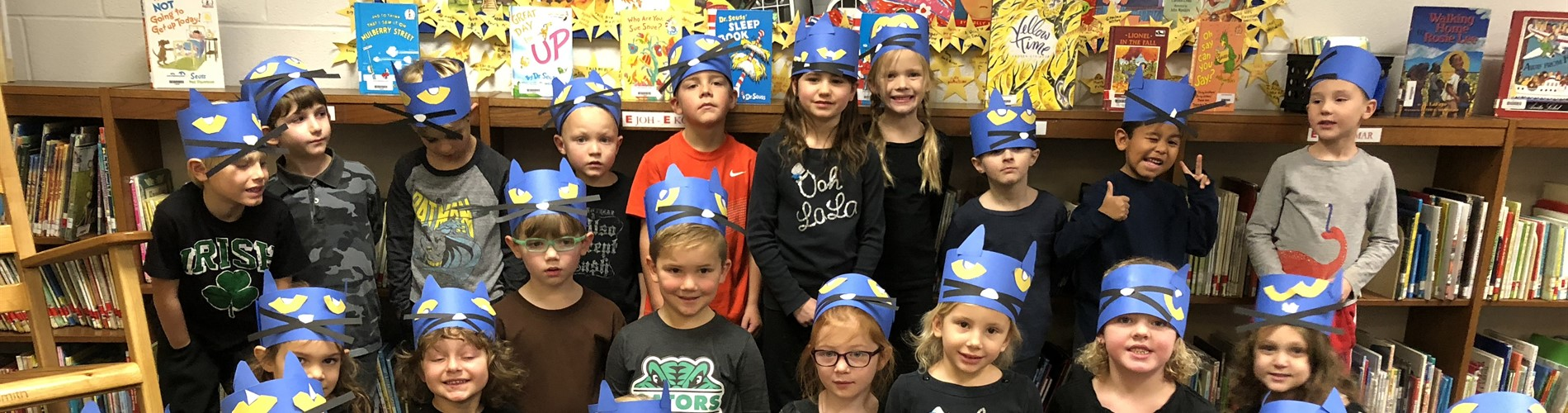 Pete the Cat Reading celebration