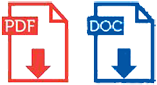 PDF and Doc file download icons