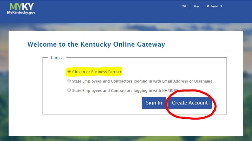 MYKentucky.gov - Welcome to the Kentucky Online Gateway