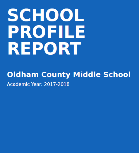 OCMS School Profile Report for Academic Year 2017-2018
